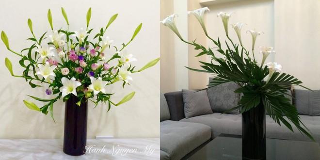Tháng Tư ngất ngây với mùa hoa loa kèn và những cách cắm đẹp lung linh mê hồn - Ảnh 3.