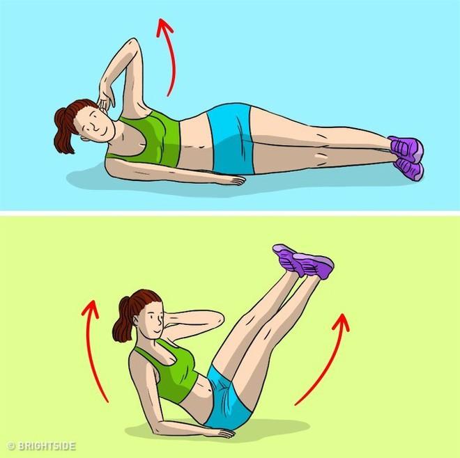 Kế hoạch tập thể dục 3 ngày để loại bỏ chất béo bụng và chuyển đổi cơ thể của bạn - Ảnh 12.