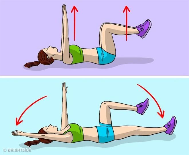 Kế hoạch tập thể dục 3 ngày để loại bỏ chất béo bụng và chuyển đổi cơ thể của bạn - Ảnh 8.