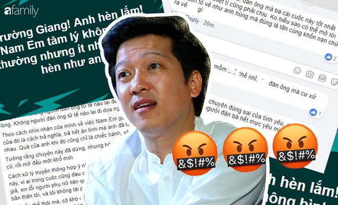 """Phản ứng của cư dân mạng khi Trường Giang nói Nam Em """"có vấn đề về đầu óc"""" - Ảnh 2."""