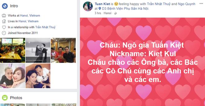 Quán quân Vietnam Idol Nhật Thủy hạ sinh con trai đầu lòng với ông xã doanh nhân - Ảnh 1.