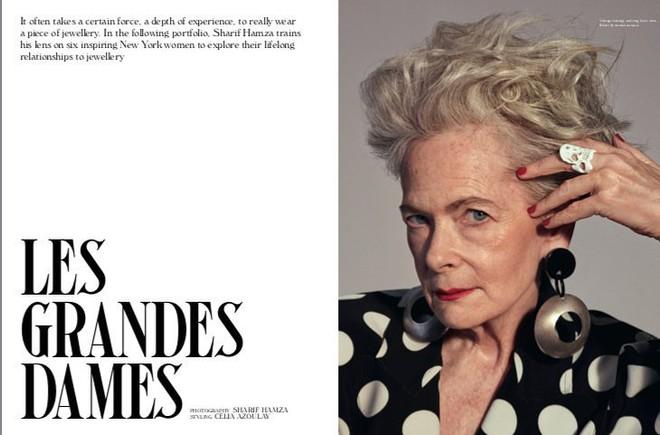 Cụ bà trở thành biểu tượng thời trang tuổi 64 và câu chuyện danh tiếng ập đến theo cách không thể ngờ tới - Ảnh 1.