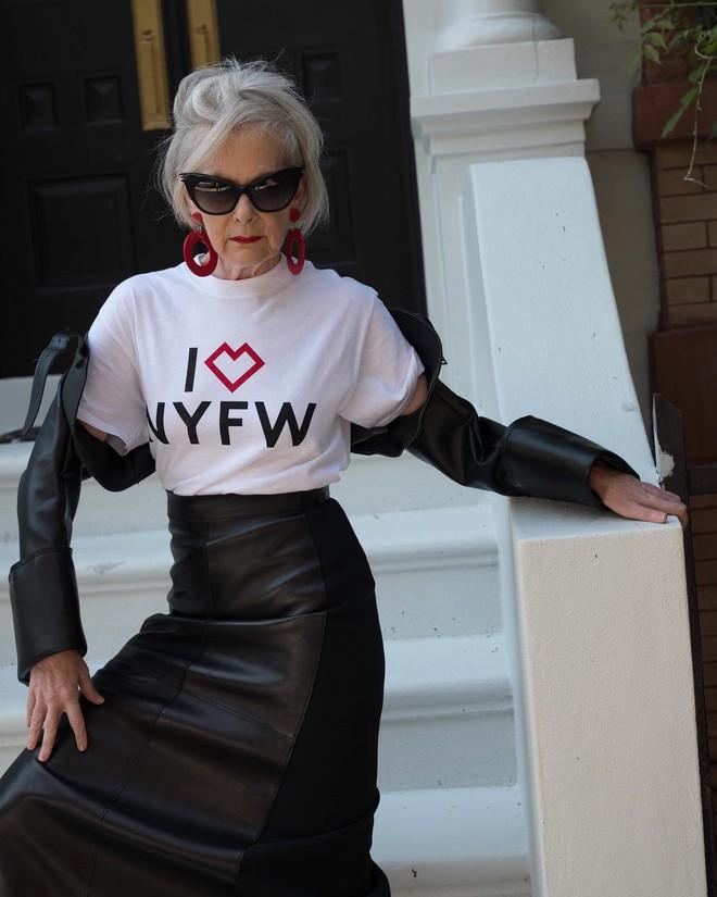 Cụ bà trở thành biểu tượng thời trang tuổi 64 và câu chuyện danh tiếng ập đến theo cách không thể ngờ tới - Ảnh 7.