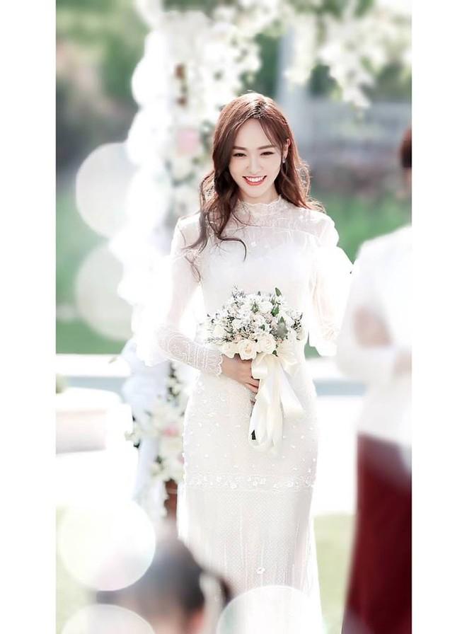 Hé lộ cảnh ngọc nữ Đường Yên mặc váy cưới, làm cô dâu cực xinh đẹp - Ảnh 1.