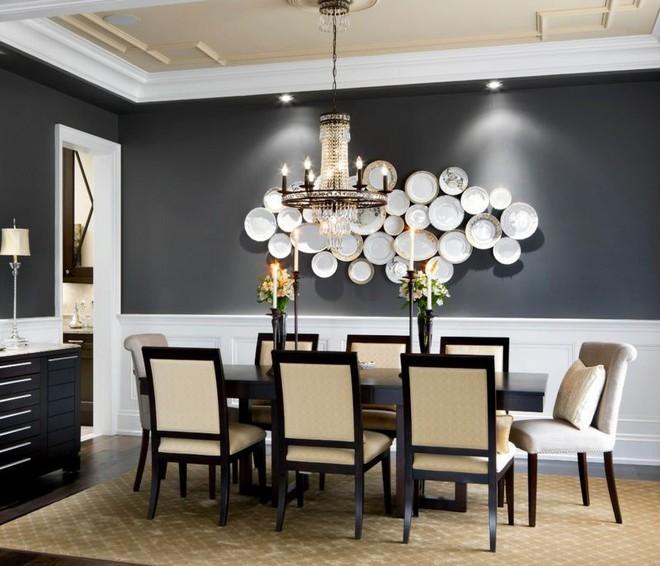 Trang trí tường bằng đĩa vừa rẻ vừa dễ, lại có thể kết hợp được với bất cứ dạng nội thất nào, tại sao bạn không thử? - Ảnh 8.