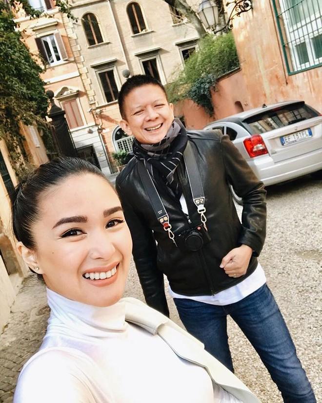 Lấy chồng 3 năm chưa sinh con, vợ Thượng nghị sĩ Phillipines, bạn của Tăng Thanh Hà vẫn sang chảnh rực rỡ như gái son - Ảnh 4.