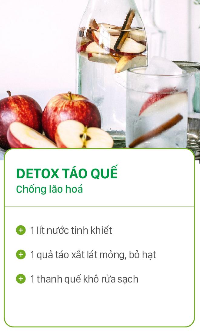 8 công thức detox đơn giản vừa đẹp da vừa chống lão hóa cực hiệu quả - Ảnh 1.