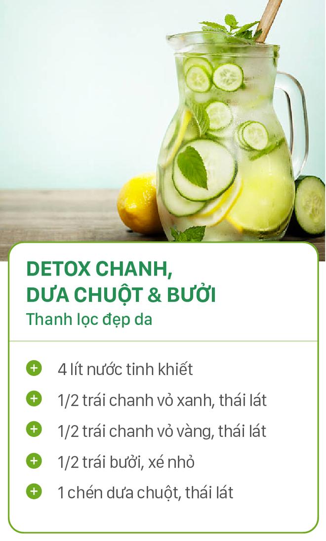 8 công thức detox đơn giản vừa đẹp da vừa chống lão hóa cực hiệu quả - Ảnh 2.