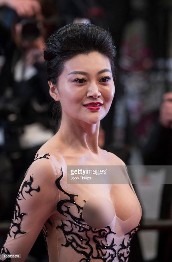 Những lần náo loạn thảm đỏ Cannes của sao Hoa ngữ: Từ mỹ nhân hạng A đến người đẹp vô danh chiêu trò đủ kiểu khiến truyền thông ngao ngán - Ảnh 3.