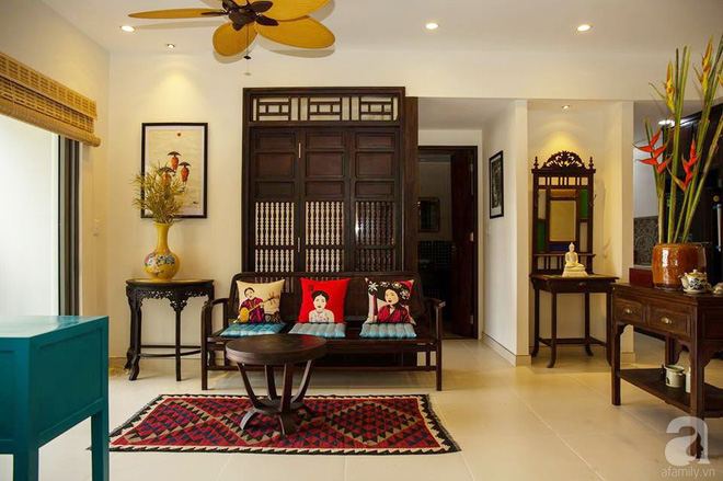 Phảng phất nét xưa trong căn hộ của người đàn ông yêu vẻ đẹp truyền thống Việt ở Sài Gòn - Ảnh 3.