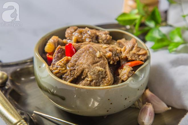 Món ngon cuối tuần: Lưỡi heo khìa nước dừa - Ảnh 1.