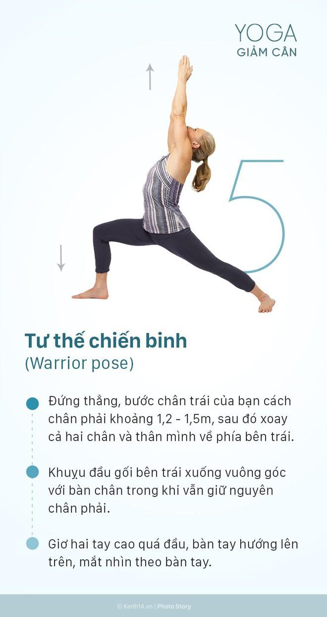 5 động tác yoga giảm cân toàn thân cực kỳ hiệu quả có thể thực hiện ngay tại nhà - Ảnh 9.