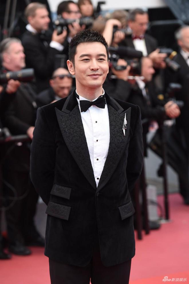 Dàn soái ca Châu Á Huỳnh Hiểu Minh, Yoo Ah In khiến loạt mỹ nhân phải lép vế khi xuất hiện trên thảm đỏ Cannes - Ảnh 9.