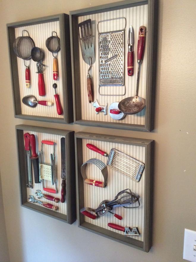 Trang trí nhà siêu xinh từ việc sử dụng dụng cụ nhà bếp cũ tưởng chừng chỉ còn nước bỏ đi - Ảnh 7.