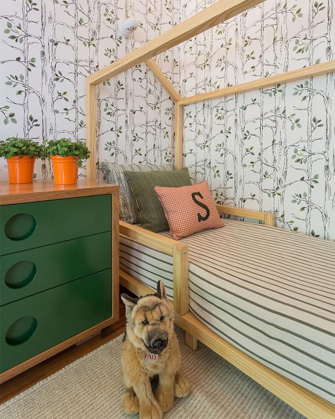 Thiết kế phòng ngủ cho cặp đôi song sinh siêu dễ thương  - Ảnh 5.