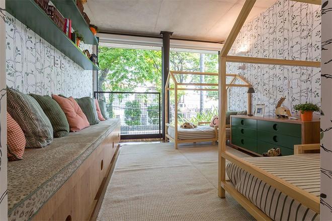 Thiết kế phòng ngủ cho cặp đôi song sinh siêu dễ thương  - Ảnh 6.