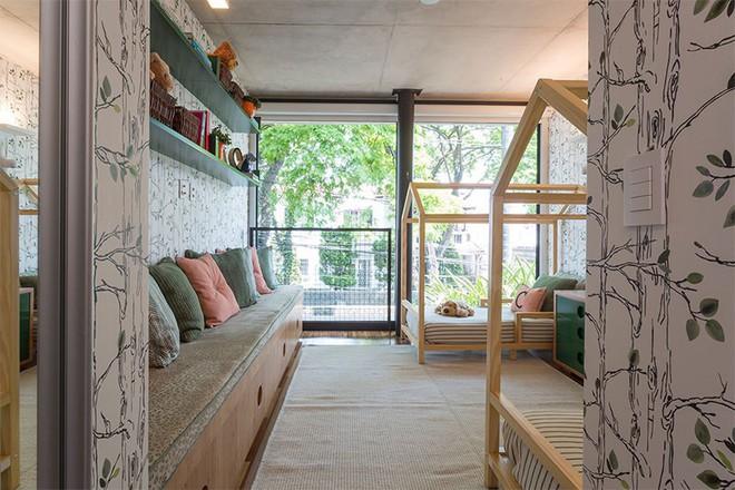 Thiết kế phòng ngủ cho cặp đôi song sinh siêu dễ thương  - Ảnh 9.