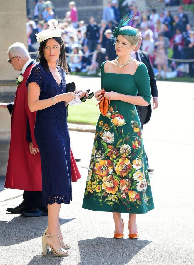 Không chỉ có cô dâu, dàn khách mời của đám cưới Hoàng gia cũng có 10 bộ cánh xuất sắc thật sự - Ảnh 1.