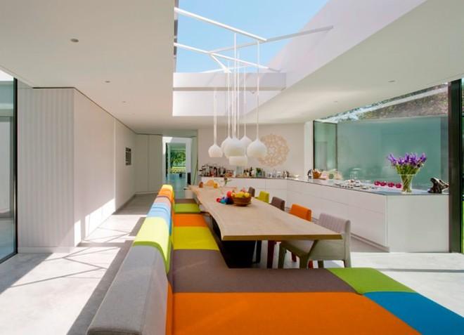 Tham khảo cách trang trí của 15 phòng ăn hiện đại cho gia đình - Ảnh 11.