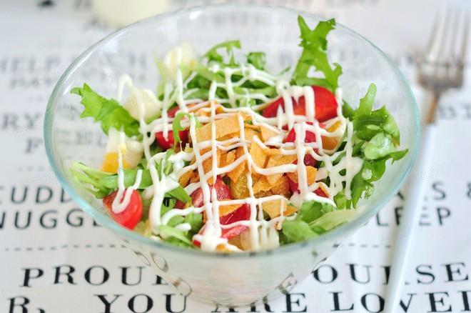Salad rau quả thanh mát cho ngày nắng lên - Ảnh 6.