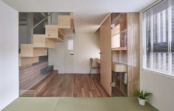 Ngôi nhà 40m² màu xanh matcha với thiết kế tầng lửng nhìn là yêu của gia đình trẻ - Ảnh 9.