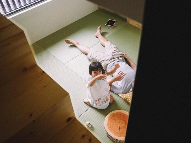 Ngôi nhà 40m² màu xanh matcha với thiết kế tầng lửng nhìn là yêu của gia đình trẻ - Ảnh 8.