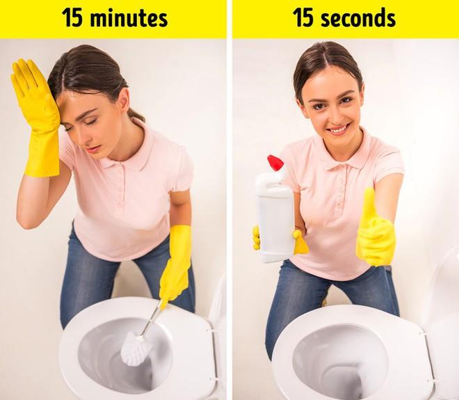 15 mẹo hay giúp làm sạch nhà chỉ trong vài phút ai cũng nên biết - Ảnh 5.