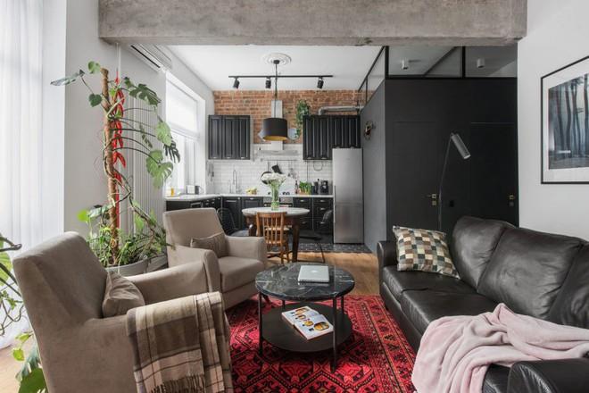Cải tạo căn hộ từ không gian ảm đảm và nhạt nhòa thành rực rỡ sắc màu - Ảnh 5.