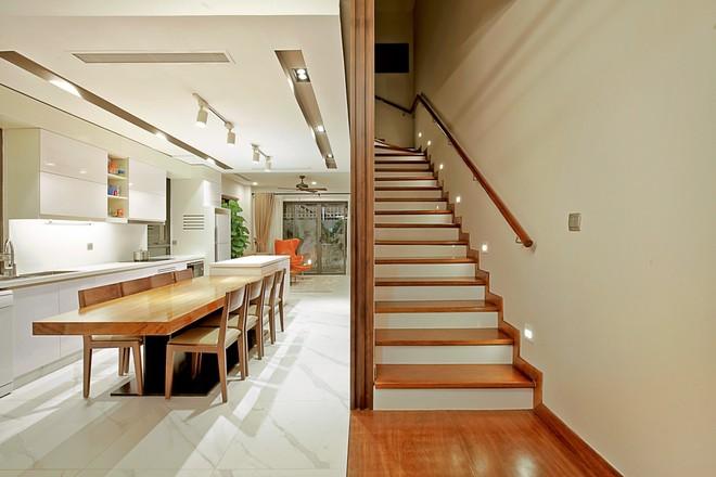Ngôi biệt thự góc nào cũng xinh với chi phí nội thất 480 triệu do KTS 8x tự tay thiết kế tặng vợ con ở Hà Nội - Ảnh 4.