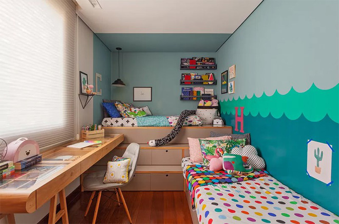 15 kiểu phòng ngủ cho trẻ cực vui nhộn và sáng tạo này sẽ truyền cảm hứng cho bạn - Ảnh 15.