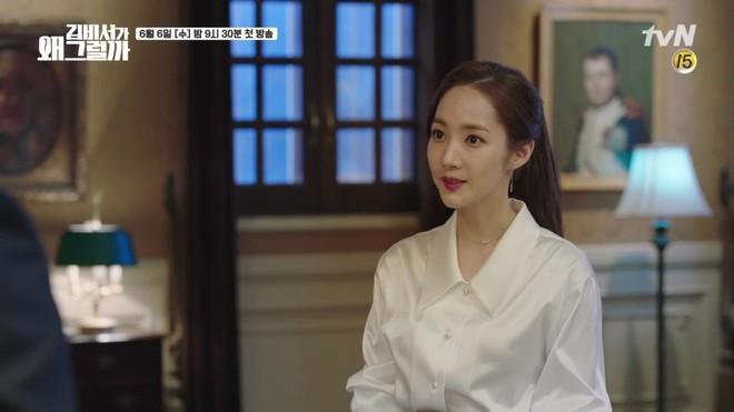 Vừa được khen nhan sắc thẩm mỹ đỉnh cao, Park Min Young đã lộ cằm dài nhọn bất thường trong phim mới - Ảnh 15.