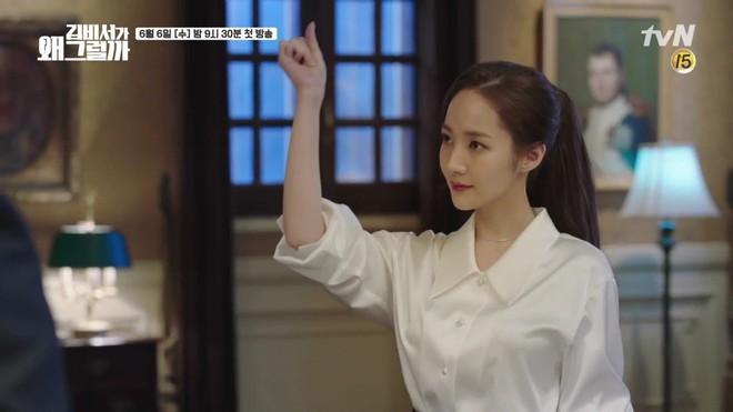 Vừa được khen nhan sắc thẩm mỹ đỉnh cao, Park Min Young đã lộ cằm dài nhọn bất thường trong phim mới - Ảnh 16.