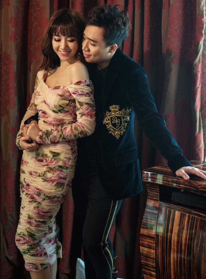 Trấn Thành - Hari Won tung bộ ảnh kỉ niệm 17 tháng hôn nhân viên mãn trong sóng gió - Ảnh 1.