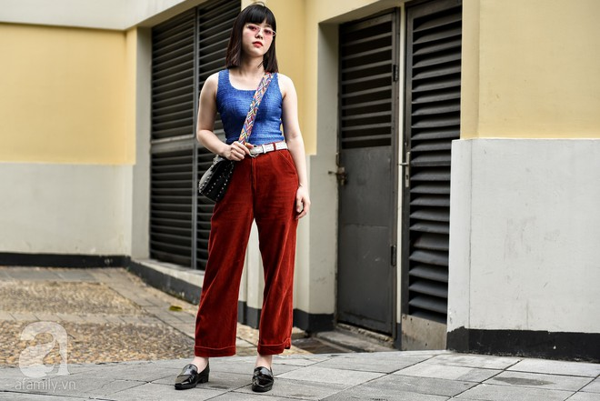 Mốt váy hạ cạp của Chi Pu được ứng dụng ngay trong street style của các quý cô miền Bắc tuần này - Ảnh 8.