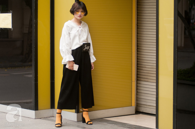 Mốt váy hạ cạp của Chi Pu được ứng dụng ngay trong street style của các quý cô miền Bắc tuần này - Ảnh 6.