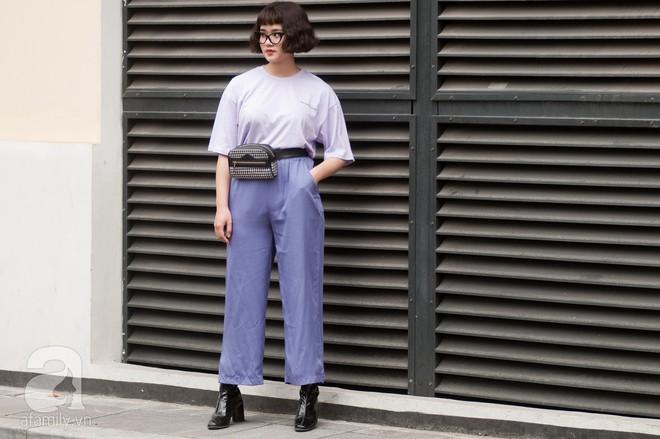 Mốt váy hạ cạp của Chi Pu được ứng dụng ngay trong street style của các quý cô miền Bắc tuần này - Ảnh 7.
