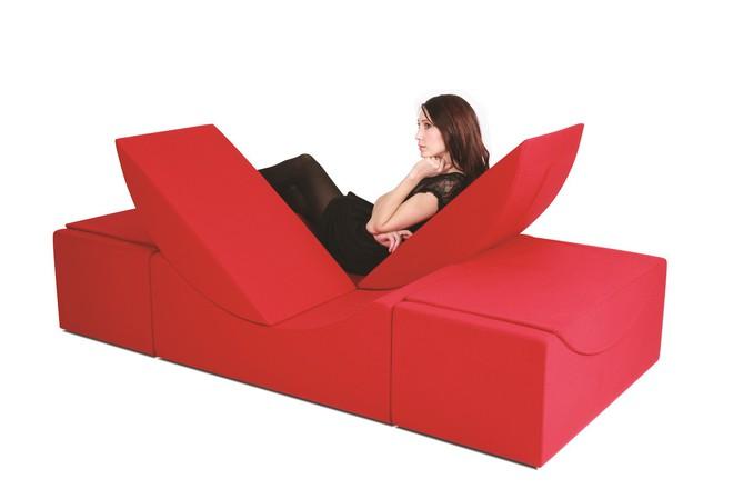 Ngộ Nghĩnh Tiện Dụng Với Ghế Sofa Xếp Hinh Showbizvn Com Thế