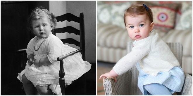 Chả trách Công chúa Charlotte lại có thần thái xuất chúng đến như vậy, hóa ra cô bé chính là bản sao hoàn hảo của Nữ hoàng - Ảnh 2.