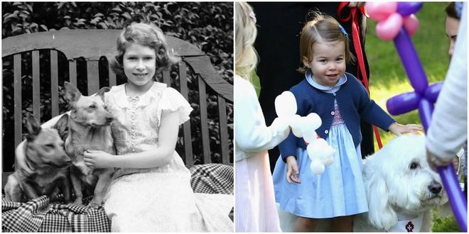 Chả trách Công chúa Charlotte lại có thần thái xuất chúng đến như vậy, hóa ra cô bé chính là bản sao hoàn hảo của Nữ hoàng - Ảnh 6.