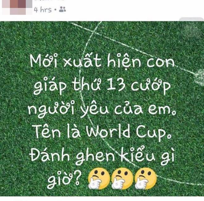 Chị em phát rồ mùa World Cup: Chồng ăn bóng đá, ngủ bóng đá và quên luôn vợ - Ảnh 3.