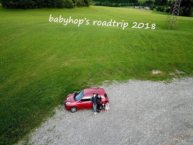 Gặp ông bố một mình lái xe 4.500km đưa 2 con và vợ chu du 9 nước Châu Âu trong 21 ngày - Ảnh 1.