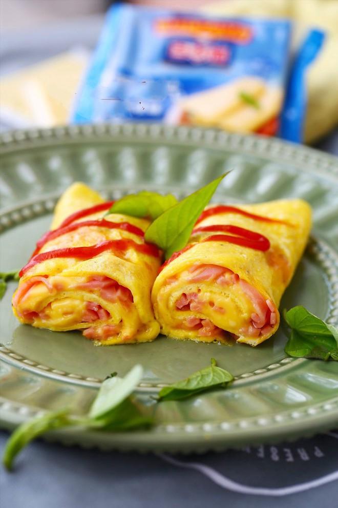 Bữa sáng đảm bảo dinh dưỡng với món trứng chiên phô mai thơm phức - Ảnh 4.