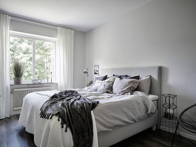 Căn hộ 1 phòng ngủ với hai gam màu đơn giản nhưng lại khiến bạn không thể rời mắt - Ảnh 9.