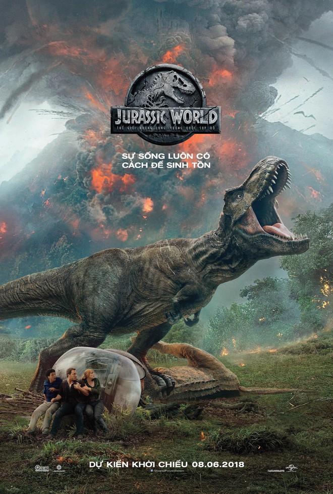 Vén màn bí mật đại phim trường hoành tráng trong bom tấn Thế giới khủng long - Ảnh 1.