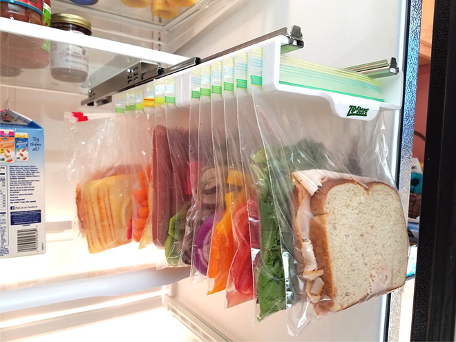 Loạt đồ cực hay biến tủ lạnh thành động không đáy chứa đồ - Ảnh 3.