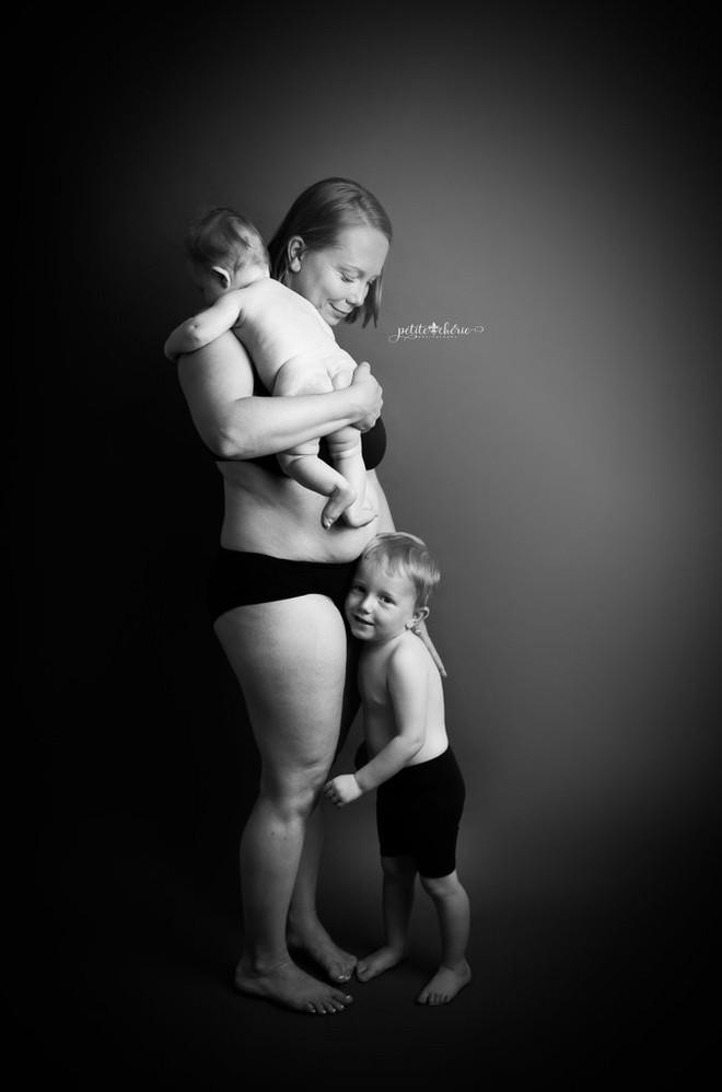 Những bức ảnh này cho thấy cơ thể người mẹ đã bị tàn phá khủng khiếp thế nào sau khi sinh - Ảnh 8.