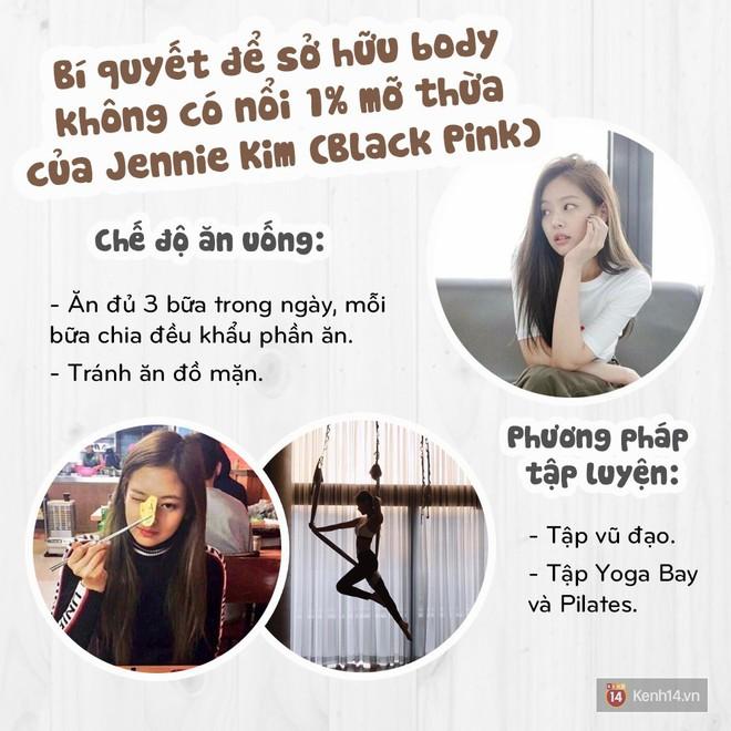 Bí quyết gì giúp Jennie Kim (Black Pink) duy trì được vóc dáng tuyệt hảo không có nổi 1% mỡ thừa? - Ảnh 8.