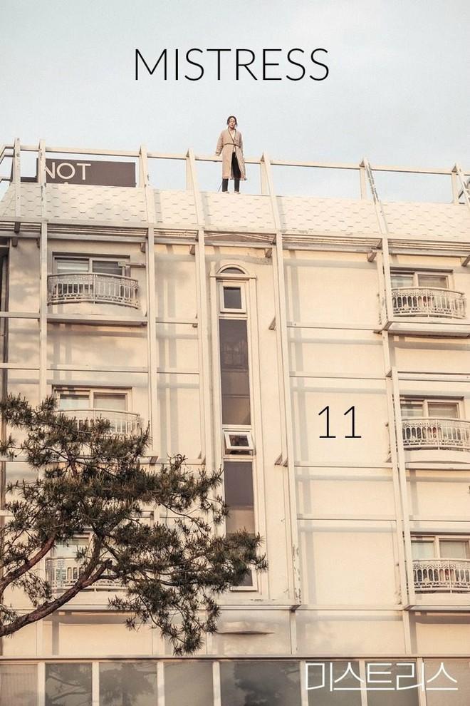 Bị dồn vào đường cùng, Han Ga In nhảy lầu tự tử để cứu con gái - Ảnh 1.