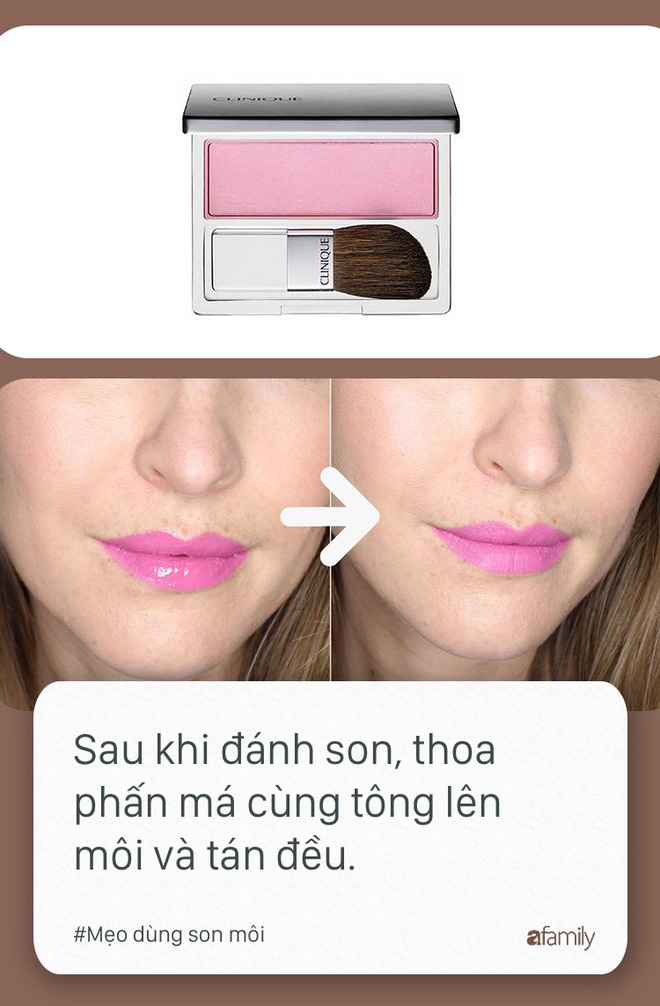 Ngày nào cũng dùng son môi mà không biết tới 11 mẹo này thì quả là đáng tiếc - Ảnh 4.