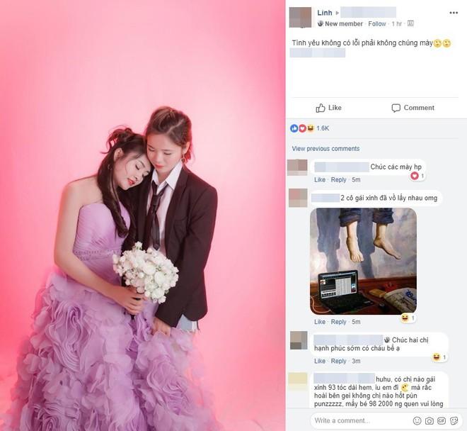 Câu chuyện tình yêu phía sau bức ảnh tình cảm của 2 cô gái xinh đẹp: Chúng mình đã bên nhau được 2 năm rồi và dự tính làm đám cưới tại Đài Loan - Ảnh 1.